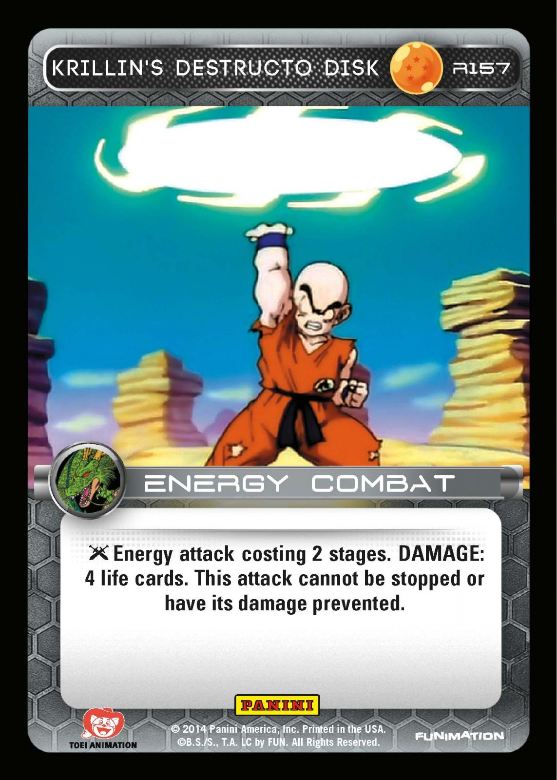Krillin gains 100% accuracy with his destructo disc. Who ...