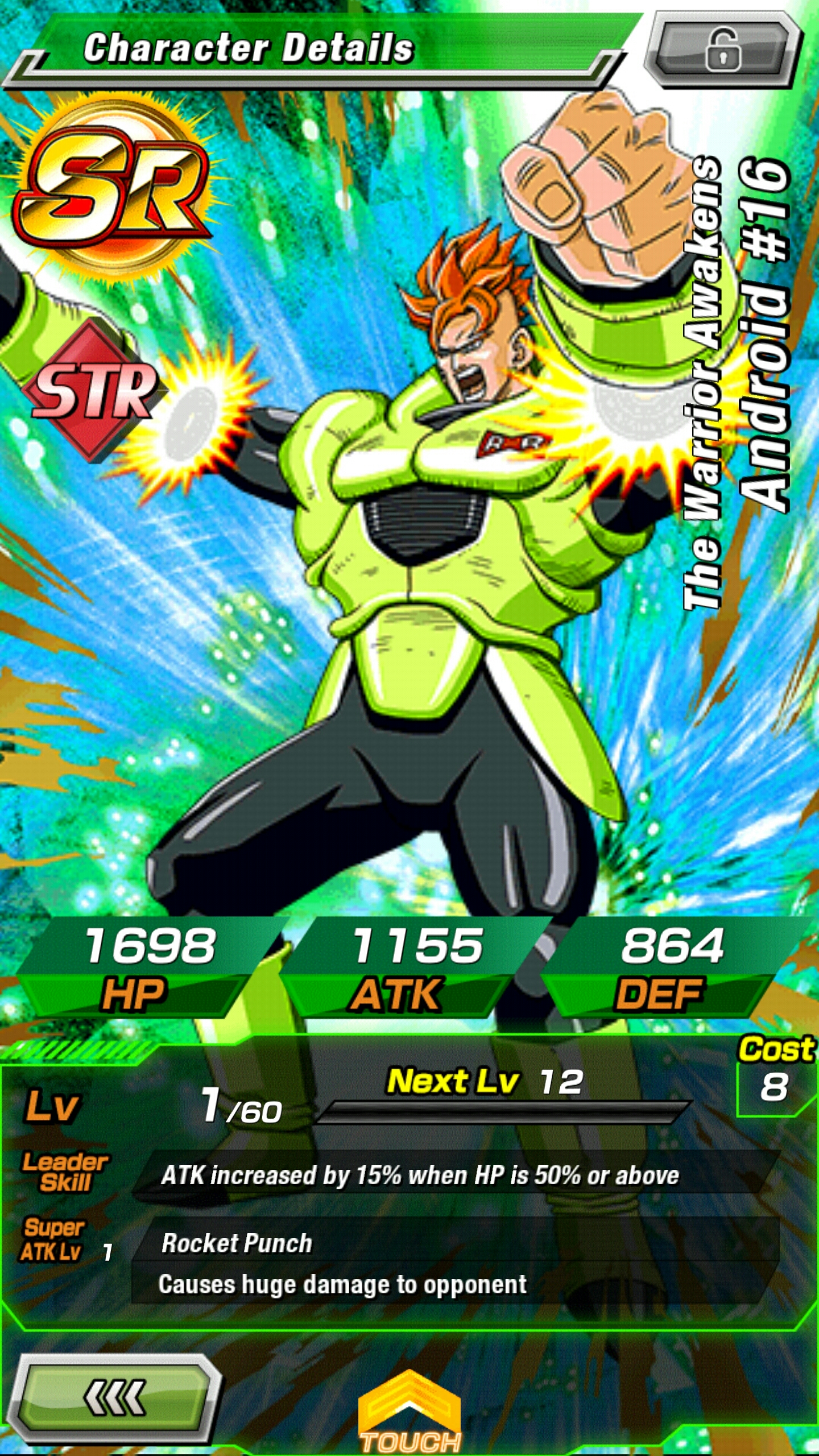 Pictures of Dragon Ball Z Super Android 16 - #rock-cafe